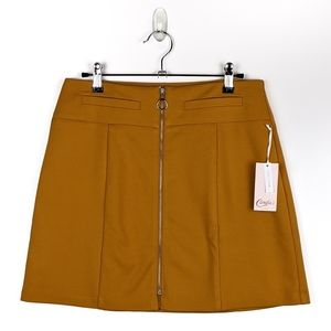 NWT Candies mini skirt with full zipper front